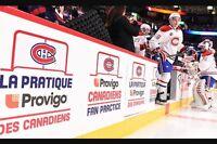 2 Free Canadiens Fan practice pratique Provigo des CH