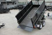 10x5 Tipper Tandem Trailer - Checker Plate - 2ft Box - 2800kg GVM Thomastown Whittlesea Area Preview
