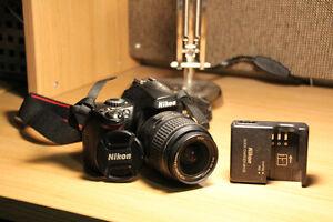 Nikon D40x + Nikon DX Nikkor 18-55mm Lens