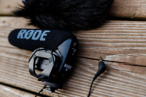 Zoom H1 + Rode Video MicPro + Deadcat + Grip Head, Pop Filter++