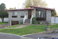 Renovated 3 Bedroom bungalow in Brossard close to all amenities