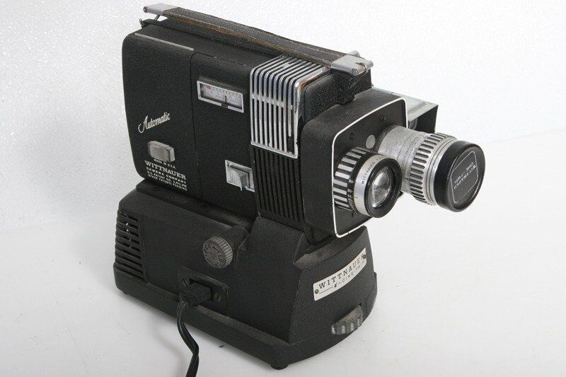 Wittnauer Automatic Regular 8mm Combination Movie Camera And Projector