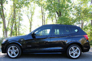 2013 BMW X3 35i M-Sport LOADED - LOW KMs -