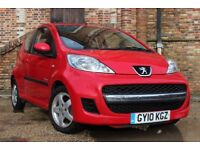 Peugeot 107 Verve 1.0 SPECIAL EDITION (red) 2010