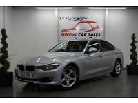 2012 62 BMW 3 SERIES 2.0 320D SE SILVER (FULL LEATHER + START/STOP)