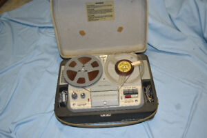 Vintage Korting 4-Track Tape Recorder' Reel To Reel