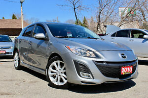 2010 MAZDA MAZDA3 SPORT GT HATCHBACK - FULLY LOADED - LOW KM!