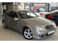 2005 55 MERCEDES-BENZ C CLASS 2.1 C220 CDI SE SPORTS 3D 148 BHP DIESEL
