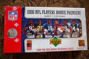 2006 UPPER DECK FOOTBALL ROOKIE PREMIERE CARDS/NEW REDUCED PRICE