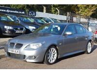 2006 06 BMW 5 SERIES 2.0 520D M SPORT 4D 161 BHP DIESEL