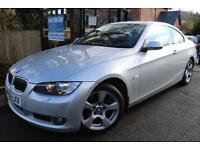 2006 (56) BMW 3 SERIES 325i SE Silver Coupe 3 Door FBMWSH Finance Available