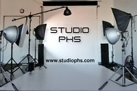 STUDIO PHOTO À LOUER