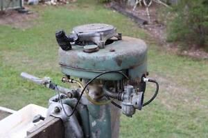 Vintage Villiers Outboard Mower Plus Some Parts Carbrook Logan Area Preview