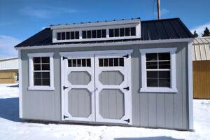 Storage sheds, bunkies, garden sheds