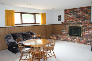 Three Bedroom Basement for Rent July 1st, Utilities included
