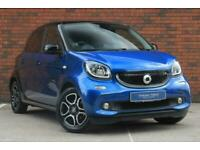 2017 smart forfour 0.9T Prime (Premium Plus) Twinamic (s/s) 5dr Hatchback Petrol