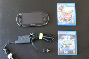 Like a brand new PS Vita with 2 gamse