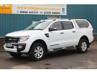 2014 FORD RANGER WILDTRAK 4X4 DOUBLECAB 3.2 TDCI 200 BHP 4WD AUTOMATIC PICK UP,