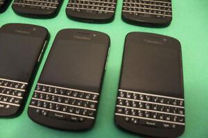 8 - BlackBerry Q10 (Unlocked, 16GB) $45 Each Firm