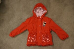 "Disney ""MINI MOUSE"" Jacket size 4T"