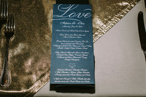 Gold Organza Table Overlays London Ontario image 2