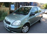 Toyota Yaris T3 1.3 Green 3 Door FSH Low Mileage Finance Available