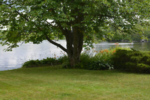 New Price - HOUSE ON THE LAKE - 2 LOTS TOGETHER - WATER FRONTAGE