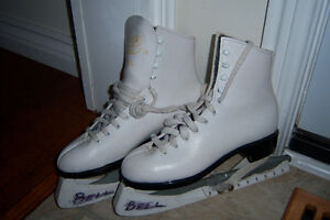 White Skates  Size 8 and 4