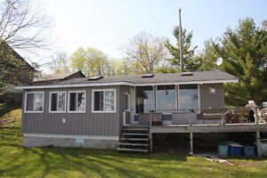 Waterfront home/cottage/income property on MacLean Lake