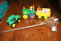 Toddler Tractor/Farm Toys