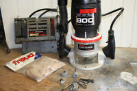 CRAFTSMAN HEAVY DUTY ROUTER & BISCUIT JOINER