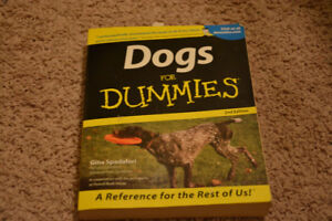 Dogs for dummies book
