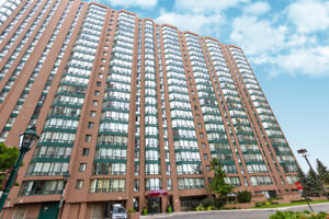 Bright, 2 Bdrm. Mississauga Condo. Walk 2 mins to Cooksville Go.