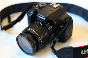 Canon Rebel T2i 18-55mm kit EN BONNE CONDITION!!