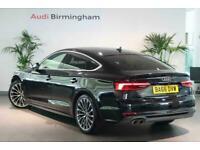 2017 Audi A5 DIESEL SPORTBACK 2.0 TDI S Line 5dr S Tronic Auto Hatchback Diesel