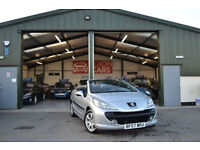 2008 Peugeot 207 CC 1.6 16v 120 Coupe Sport MANUAL PETROL LOW MILEAGE