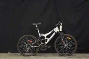 Mountain Bike Bicycle 21 speed Front Rear Suspension Mint cond