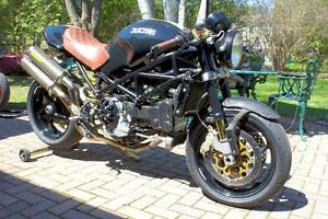 2004 Ducati Monster S4R Café Racer Motorcycle – Many Extra's!