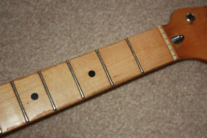 Strat-style guitar neck