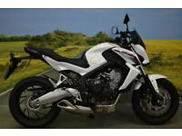 Honda CB650 2014**R&G ENGINE PROTECTION, TINTED FLY SCREEN, DATATAG PROTECTION**