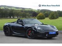 2016 Porsche 718 Boxster S 2.5 PDK S/S Petrol black Semi Auto