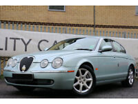 Jaguar S-TYPE 2.7D V6 auto SE 1 OWNER FROM NEW!! YOU WONT FIND BETTER!!