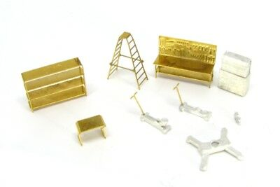 N Scale Service Station Accessories for Model Railroad -Showcase Miniatures(547) for sale  Tuskegee