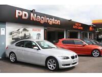 2007 BMW 3 SERIES 320d SE + FULL BLACK LEATHER + XENONS