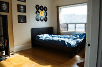 [Bloor/Ossington] 1 Furnished Bedroom Sublet in 5br house for Ma