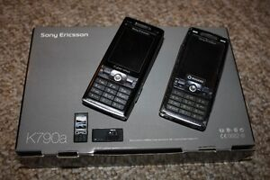 2 X SONY ERICSSON K790 K790A K800i CELL PHONE FAULTY FOR PARTS