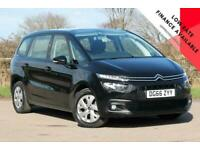2016 Citroen C4 GRAND BLUEHDI TOUCH EDITION S-S MPV Diesel Manual