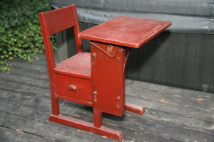 Antique Child's School Chair