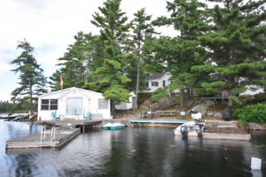PROPERTY WITH TWO COTTAGES IN COGNASHENE, GEORGIAN BAY