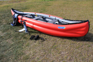 Inflatable Canoes